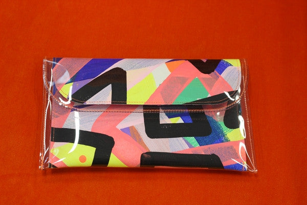 Mini Clutch by Tiff Manuell - Breakdance