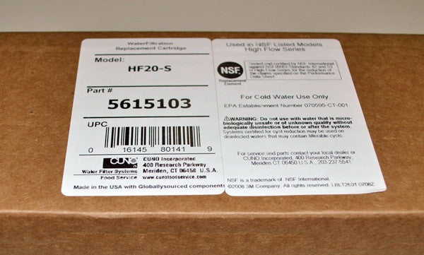 Hf20 S Water Filter Replacement Cartridge Free Shipping