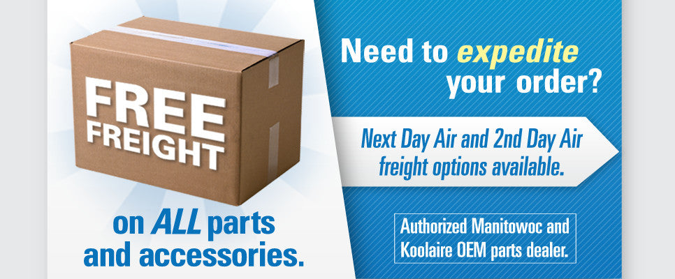 Ice Machine Parts Free Freight
