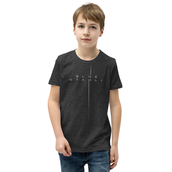 Blue Stahli Terminus Logo Youth T-Shirt