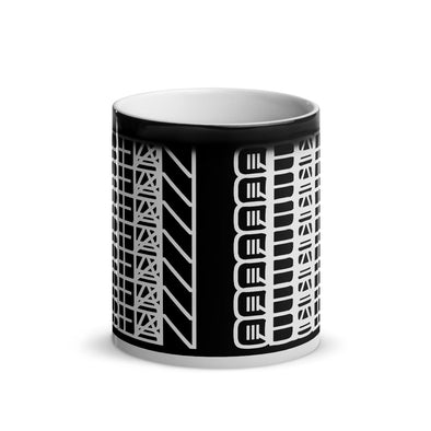 Blue Stahli Cryptic Logo Glossy Magic Mug