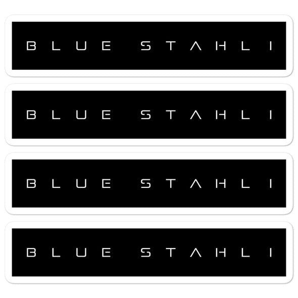 Blue Stahli Terminus Logo Sticker (Set of 4)