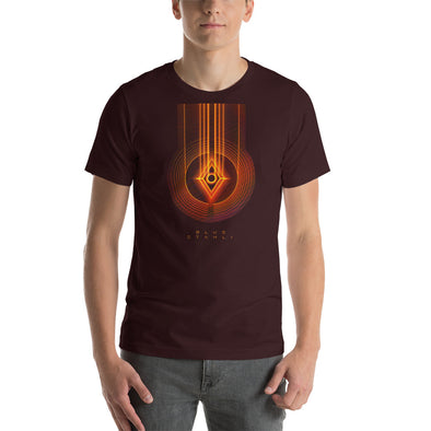 Blue Stahli Copper Emblem Unisex T-Shirt
