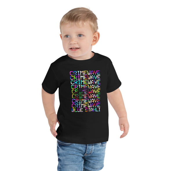 Blue Stahli Crimewave Toddler Tee