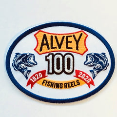 ALVEY PATCH – 100YR OVAL