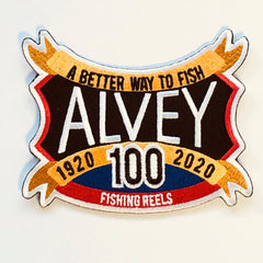 ALVEY PATCH – 100YR (LIMITED EDITION) SHIELD