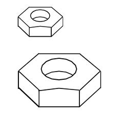 R2F - Base Bolt Nut