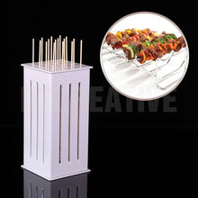 Load image into Gallery viewer, 16 Holes BBQ Kabob Skewer Maker