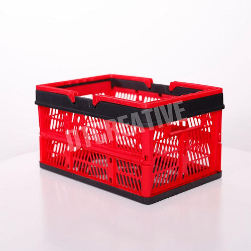 Collapsible Storage and Shopping Basket