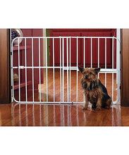 Load image into Gallery viewer, Metal Adjustable Pet Gate