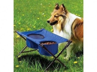 Portable Folding Fold Up Travel Pet Dog Cat Food Water Bowl Feeding Dish