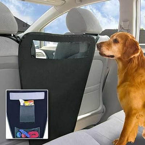 Auto Car Vehicle Between The Front Bucket Seats Pet Dog Divider Barrier Wall