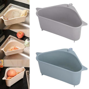 Triangle Storage Holder Multifunctional Drain Shelf(2 PCS)