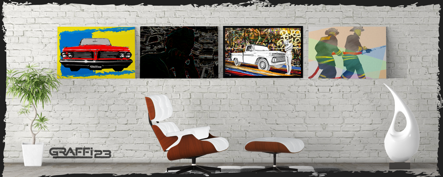 Unique Wall Art. Modern, POP ART, and Abstract Art Posters and Canvas Prints
