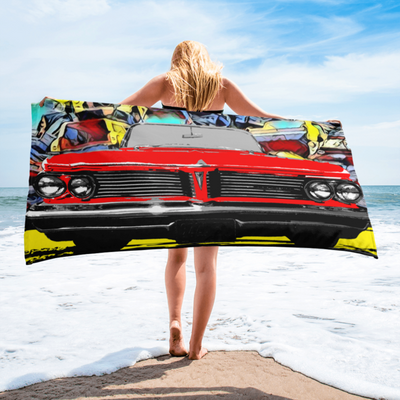 Art Collection on Beach Towels and Blankets