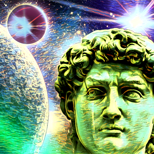 David's Universe - Digital Art Image Download