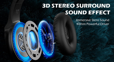 3D stereo sound for game play