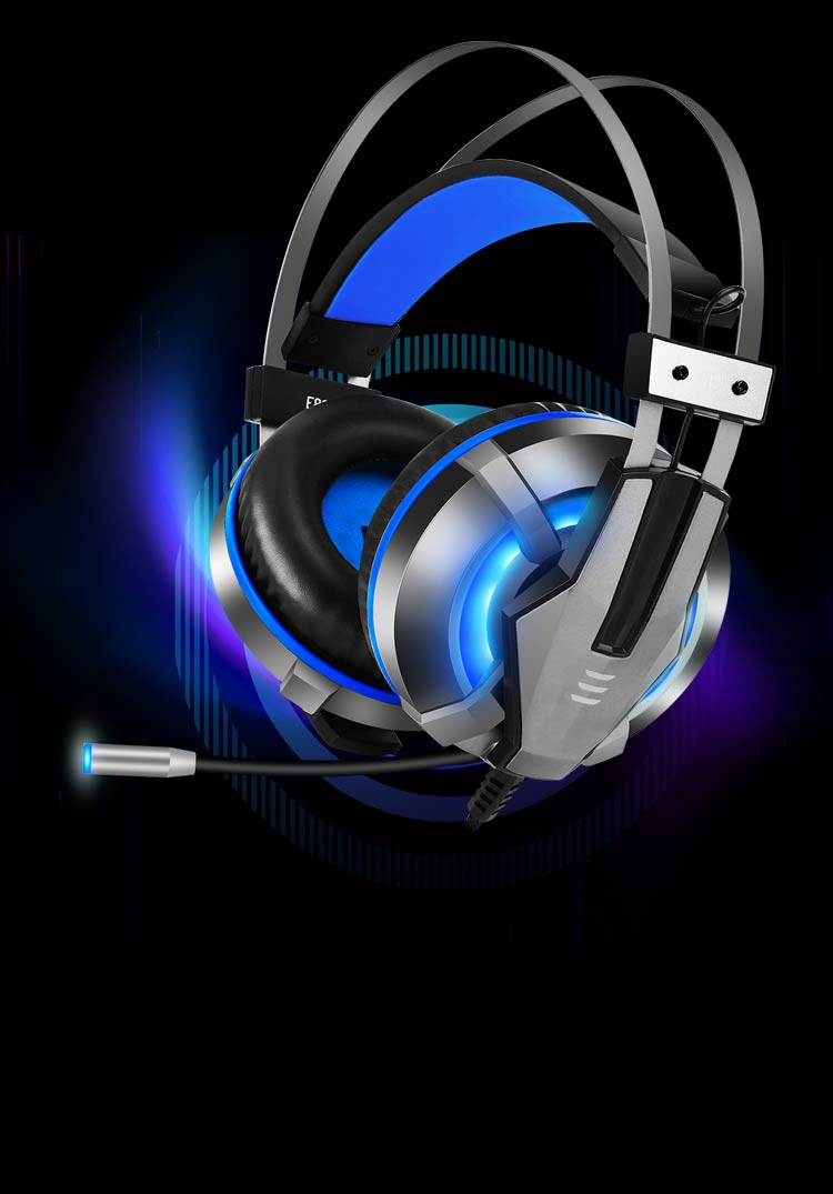 Popular good-looking headset with cool LED light-mobile