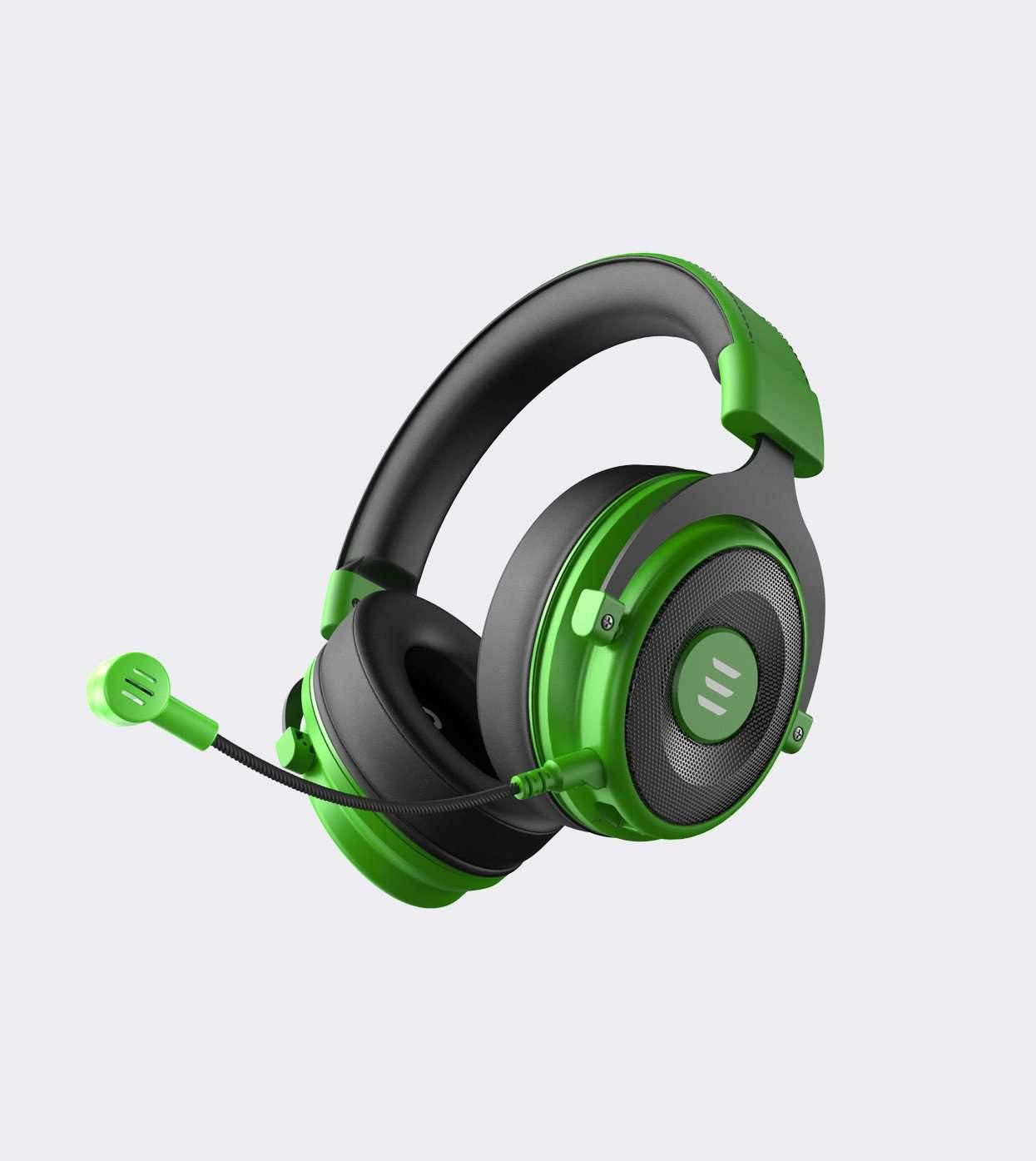 EKSA E900 Pro 7.1 Virtual Surround Sound Gaming Headset for PC, PS4, PS5(Green)