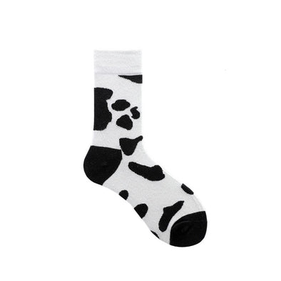 Animal Print Socks Ladies
