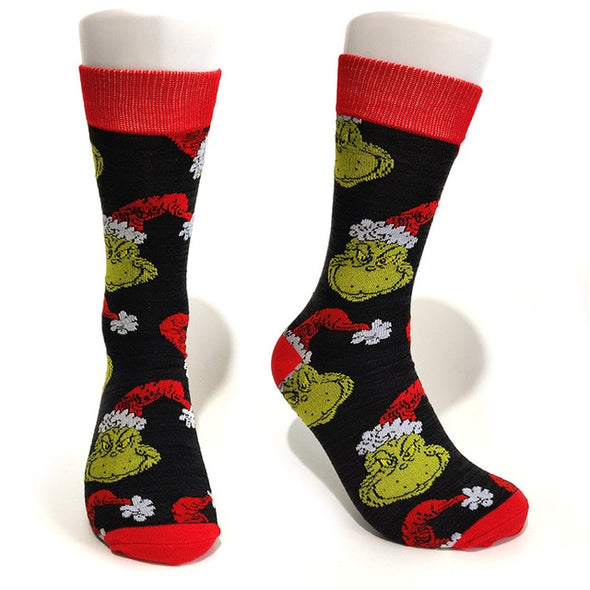 The Grinch Socks - Socksmon