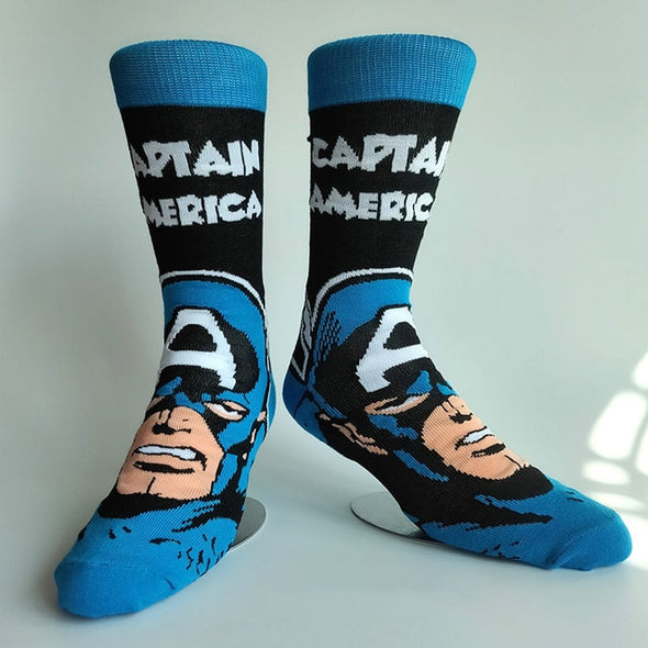 Mens Marvel Comics Socks