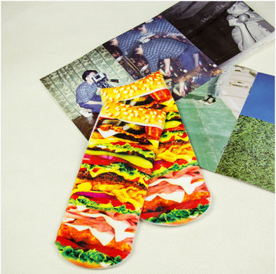 Burger Stack Socks - Socksmon