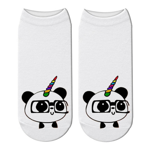 Panda With Glasses - Socksmon