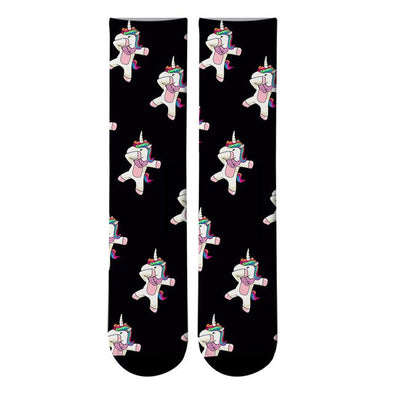 Dab Unicorn Socks - Socksmon