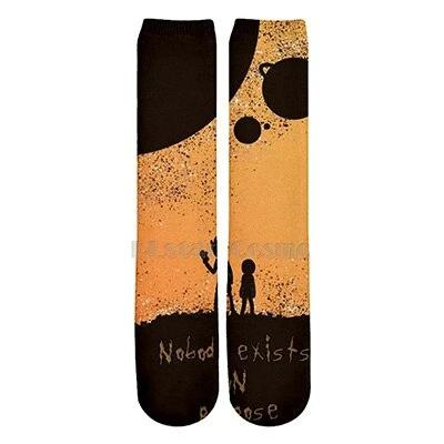 Rick And Morty Ankle Socks
