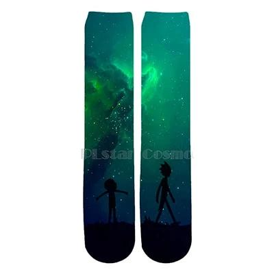 Rick And Morty Socks Womens