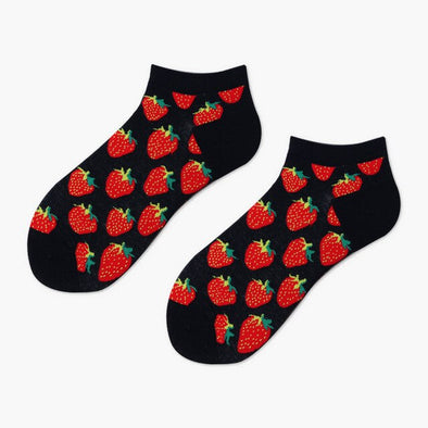 Strawberry Socks - Socksmon