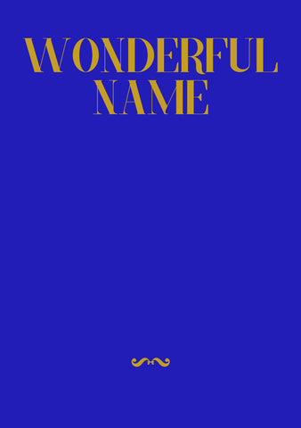 Wonderful Name Songbook (NEW)