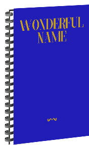 Wonderful Name Songbook (SPIRAL) NEW
