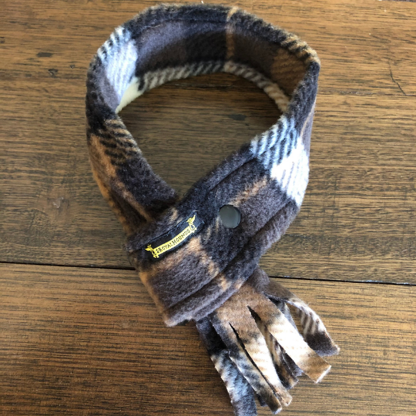 Country Brown Scarf