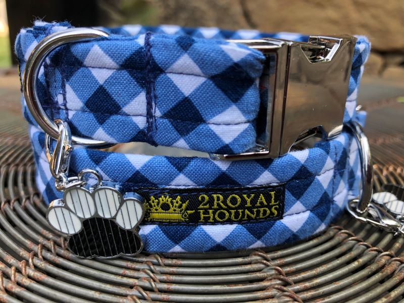 Get your Gingham On! Dog Collars