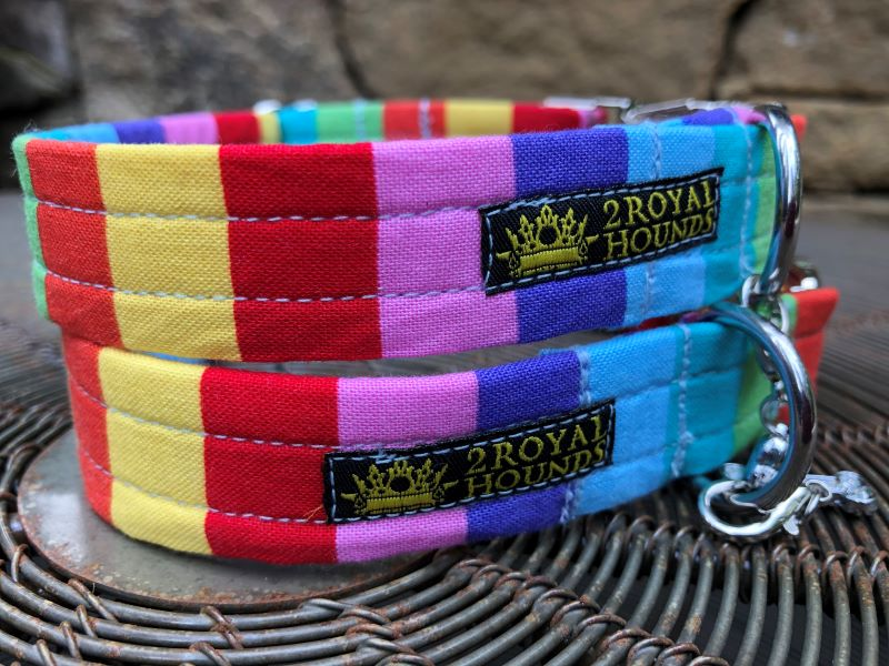 Rainbow Pride Dog Collars