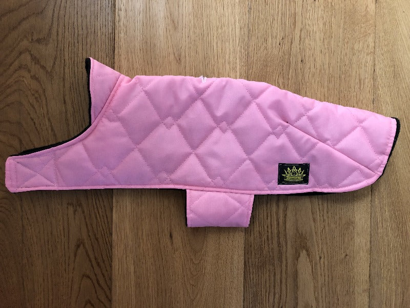 Pink Puffer Wind and Waterproof Cape