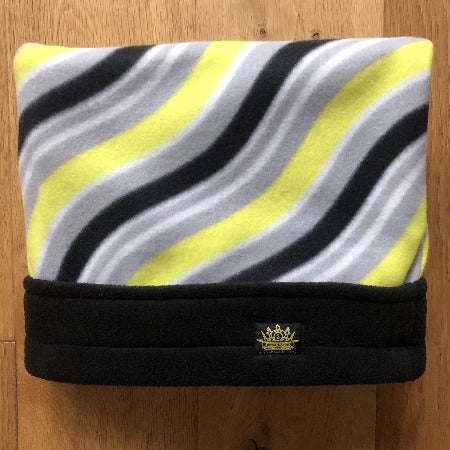 Yellow Waves with Black Trim Snuggle Sack