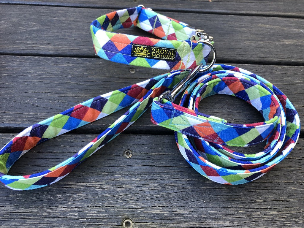 Diamond Delight Collar and Lead Set