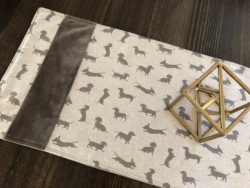 Happy Hounds Table Runner