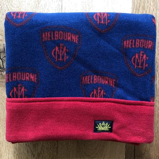 Melbourne Demons Red Trim Snuggle Sack