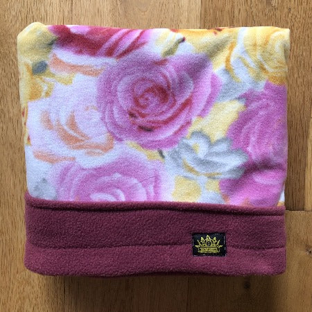 Bed of Roses with Rose Trim Snuggle Sack