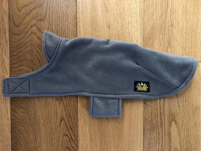 Grey Double Fleece Cape