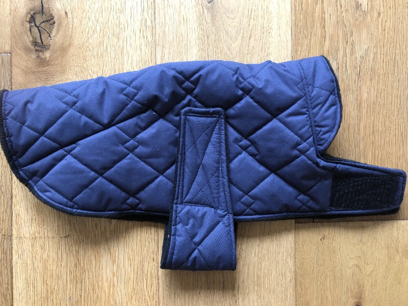 Navy Puffer Wind and Waterproof Cape