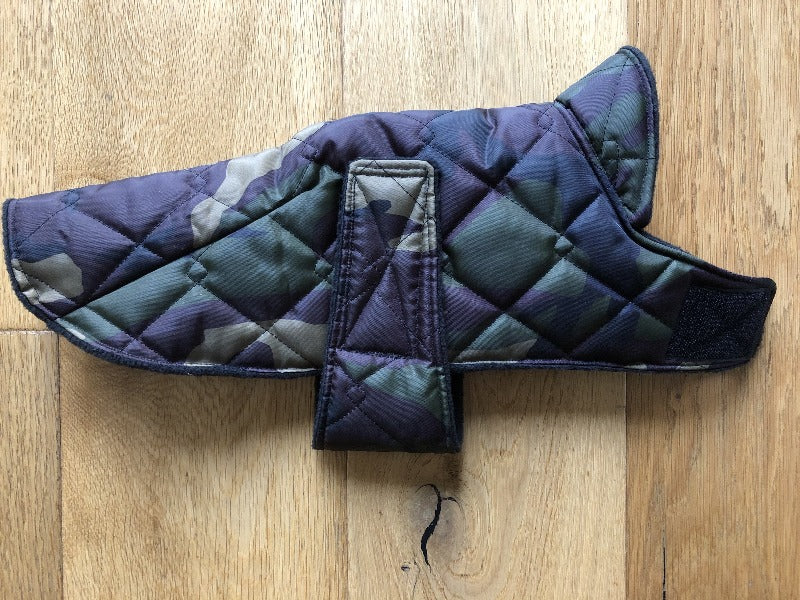 Camo Puffer Wind and Waterproof Cape