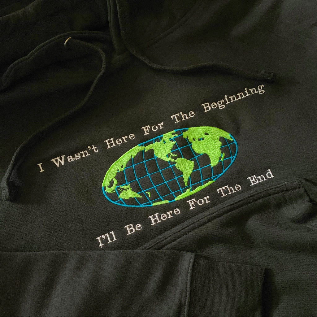 THE END HOODIE BLACK