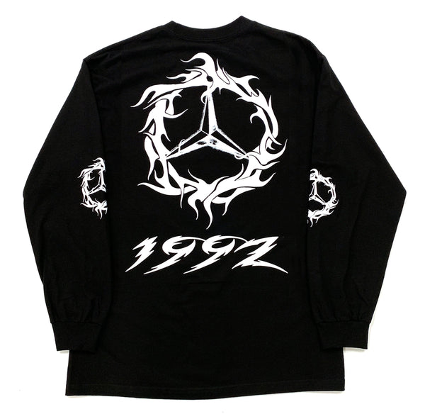 DEMZ TRIBAL BLACK LONG SLEEVE