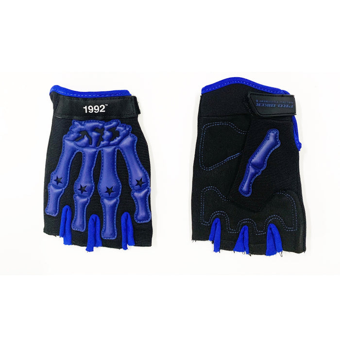 Death Grip Gloves Black And Blue