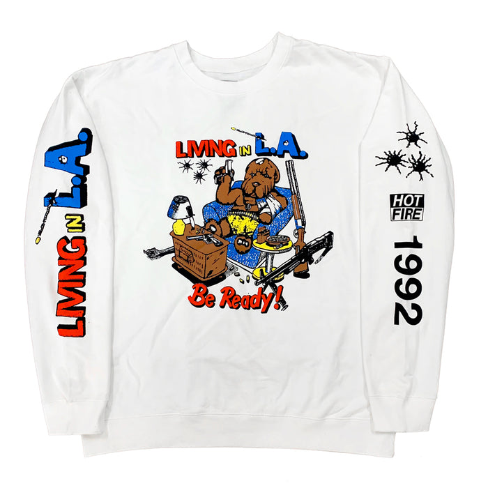 HOT FIRE x 1992 CREWNECK SWEATER